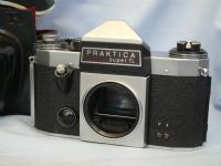 42mm Praktica Super TL Cased M42 SLR Camera £5.99